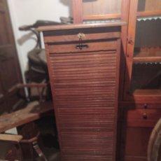 Antiguidades: ARCHIVADOR DE ROBLE. Lote 240939660