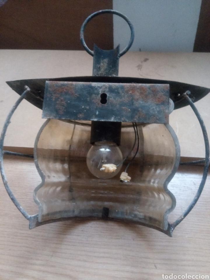 Antigüedades: Farolillo o aplique - Foto 2 - 240947020