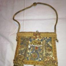 Antigüedades: RO27. BOLSA PORTAVIATICA SIGLO XIX. Lote 240974280