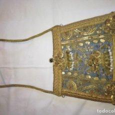 Antigüedades: RO28. BOLSA PORTAVIATICA SIGLO XIX. Lote 240974440