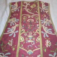 Antigüedades: RO16. CASULLA ANTIGUA SIGLO XIX. Lote 240975685