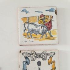 Antigüedades: AZULEJOS TALAVERA DEL MAESTRO CERAMISTA ARROYO TAURINOS. Lote 240982565
