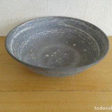 Antigüedades: PALANGANA PALANCANA JOFAINA DE ESTAÑO. Lote 241089565