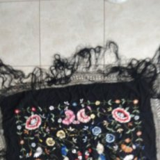 Antigüedades: MANTON DE MANILA ANTIGUO. Lote 241099645