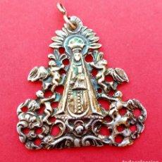 Antigüedades: MEDALLA ANTIGUA SIGLO XVIII XIX VIRGEN DE BEGOÑA. PLATA. BILBAO Y VIZCAYA.. Lote 241138525