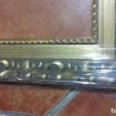 Antigüedades: MARCO PARA OBRA 46X38. DORADA. 6 CMS DE ANCHO.. Lote 241145990