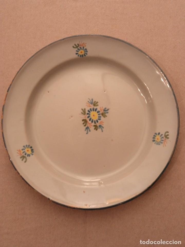 PLATO DE ALCORA (Antigüedades - Porcelanas y Cerámicas - Alcora)