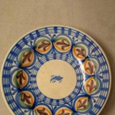 Antigüedades: PLATO DE CERÁMICA DE MANISES. Lote 241149680