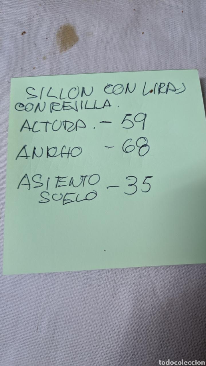 Antigüedades: Silloncito de lira - Foto 5 - 241160330