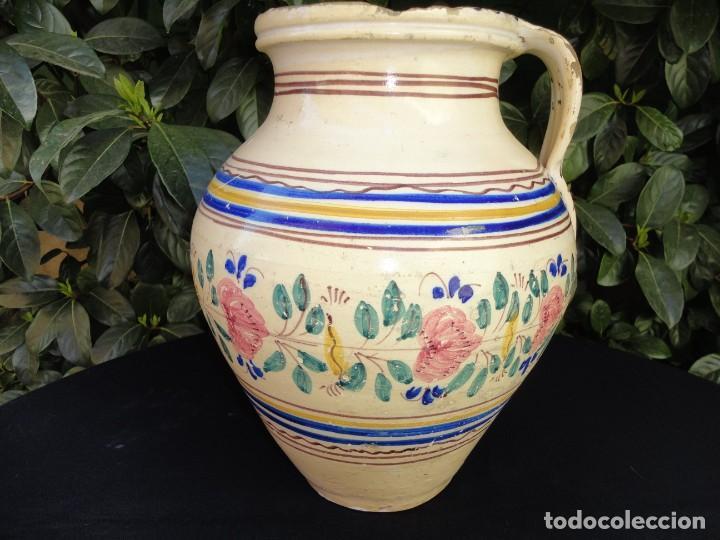 Antigüedades: Alfareria andaluza: Cántaro de Lucena (Córdoba) - Foto 2 - 241215835