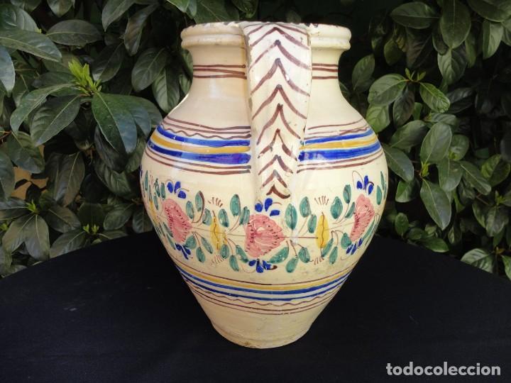 Antigüedades: Alfareria andaluza: Cántaro de Lucena (Córdoba) - Foto 3 - 241215835