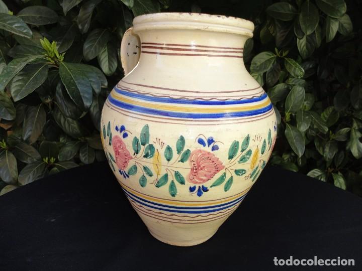 Antigüedades: Alfareria andaluza: Cántaro de Lucena (Córdoba) - Foto 5 - 241215835