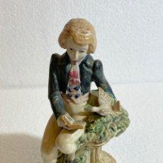 Antigüedades: PORCELANA COSTUMBRISTA VALENCIANA DE PORCELANA ARTÍSTICA LEVANTINA. Lote 241225455