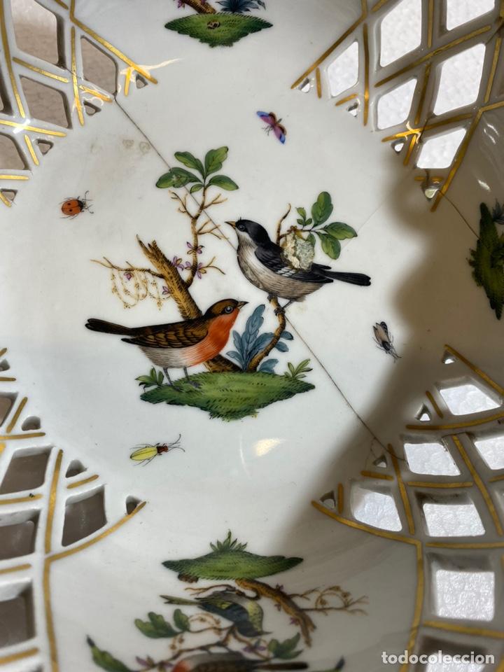Antigüedades: Cesta en porcelana europea para restaurar - Foto 2 - 241227350