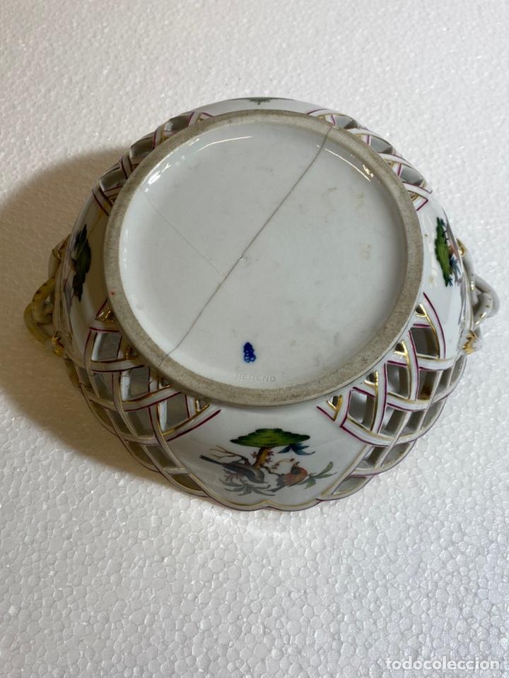 Antigüedades: Cesta en porcelana europea para restaurar - Foto 10 - 241227350