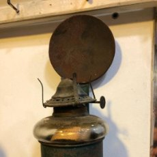 Antigüedades: ANTIGUA LINTERNA QUINQUE - MEDIDA TOTAL 21 CM. Lote 241228875