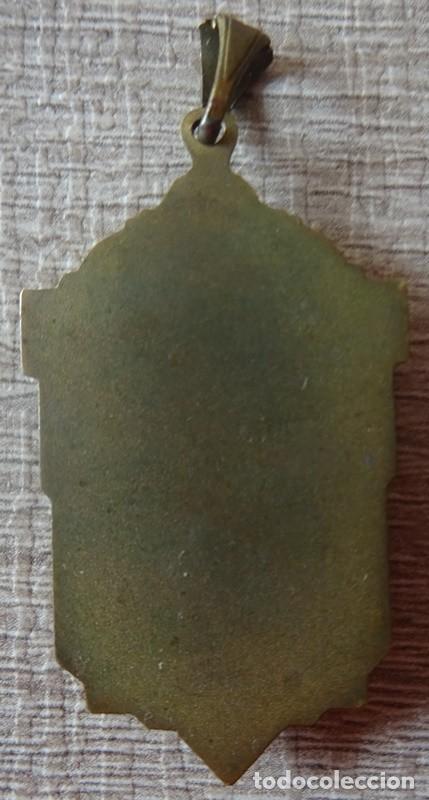Antigüedades: MEDALLA RELIGIOSA VIRGEN MARIA - Foto 3 - 241288360