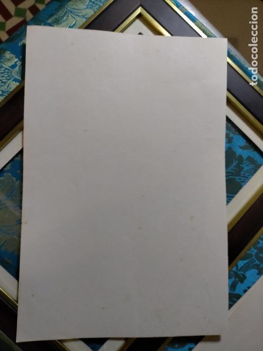 Antigüedades: AÑO 40/50 GRAN LAMINA 40 X27,5 CM ORIGINAL MODA ELEGANTE MASCULINA HOMBRE FIGURINES Atelier Sogra - Foto 2 - 241320390