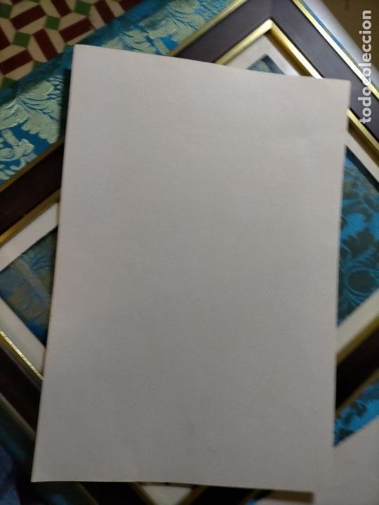 Antigüedades: AÑO 40/50 GRAN LAMINA 40 X27,5 CM ORIGINAL MODA ELEGANTE MASCULINA HOMBRE FIGURINES Atelier Sogra - Foto 2 - 241320445