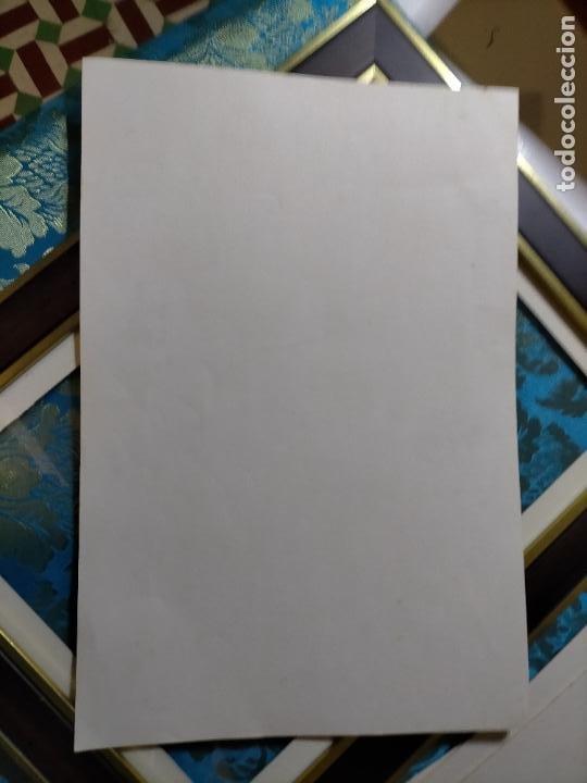 Antigüedades: AÑO 40/50 GRAN LAMINA 40 X27,5 CM ORIGINAL MODA ELEGANTE MASCULINA HOMBRE FIGURINES Atelier Sogra - Foto 2 - 241320570