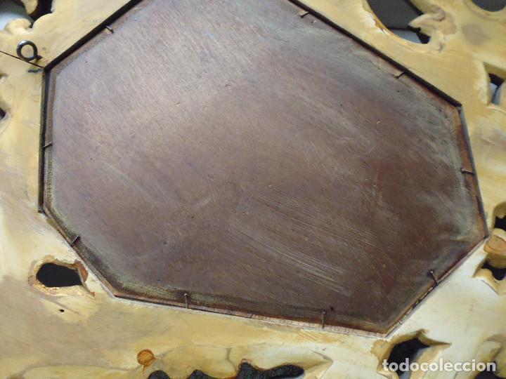 Antigüedades: PAREJA CORNUCOPIAS. ESPEJO GRABADO REAL FÁBRICA DE LA GRANJA. SIGLO XVIII. 86x54cm unid. - Foto 26 - 241337555