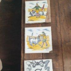 Antigüedades: AZULEJOS TALAVERA DEL MAESTRO CERAMISTA ARROYO. Lote 241368185