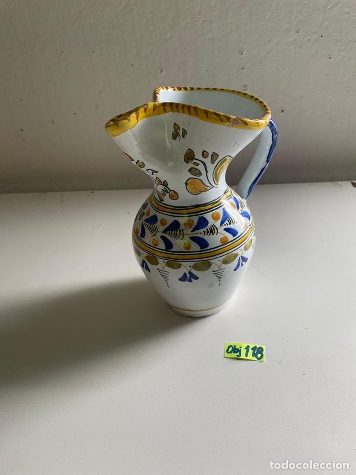 JARRON TALAVERA ESPAÑA (Antigüedades - Porcelanas y Cerámicas - Talavera)