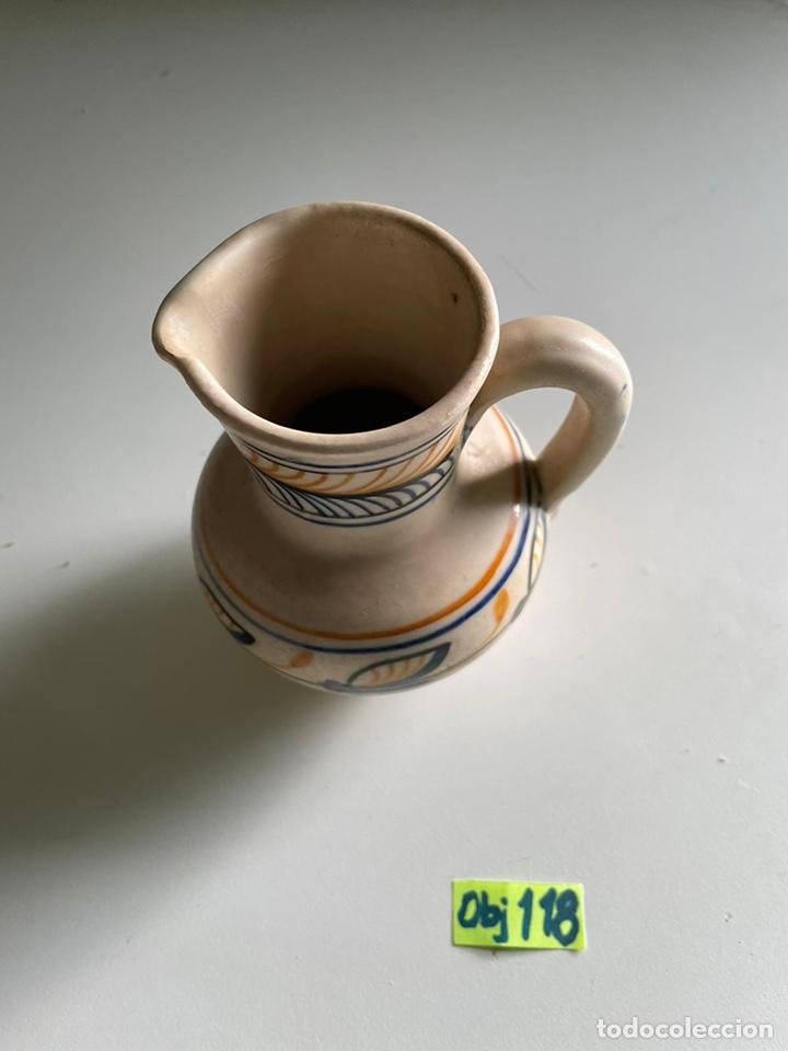 Antigüedades: Jarra chacon Talavera - Foto 2 - 241421980