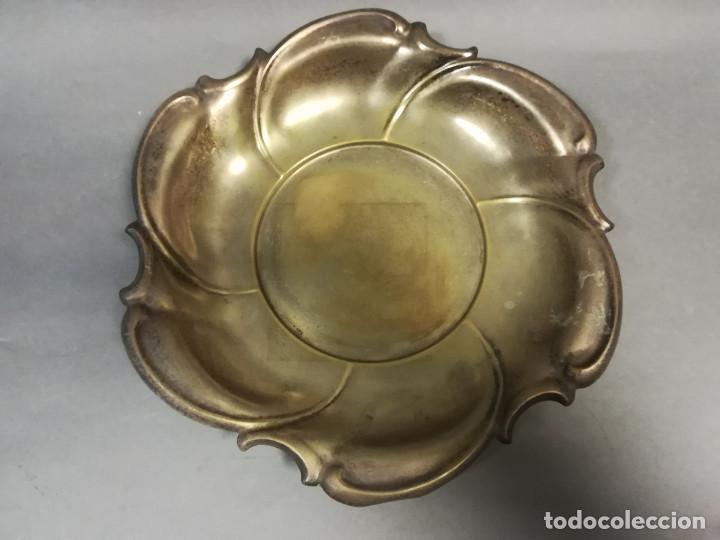 Antigüedades: FRUTERO CENTRO MESA METALICO - Foto 2 - 241637555