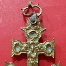 Antigüedades: ANTIGUA CRUZ DE CARAVACA S. XVIII. Lote 241671535