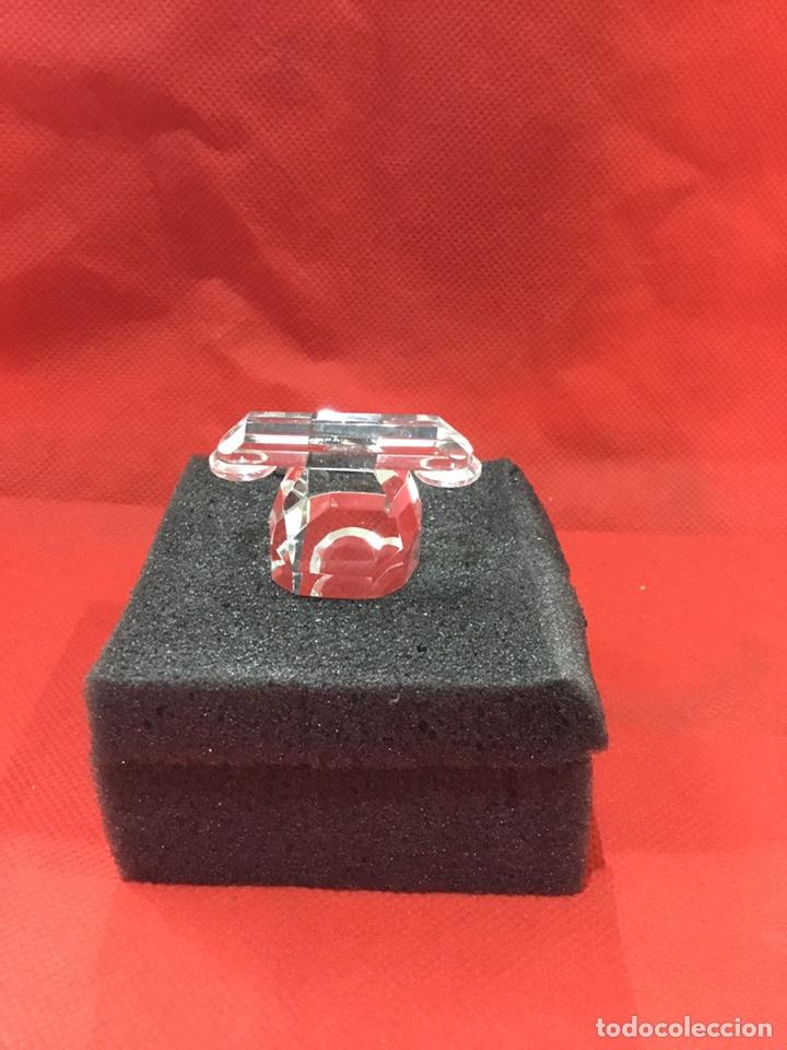 Antigüedades: Figura Telefono de Crystal con caja - ver fotos - Foto 4 - 241677855