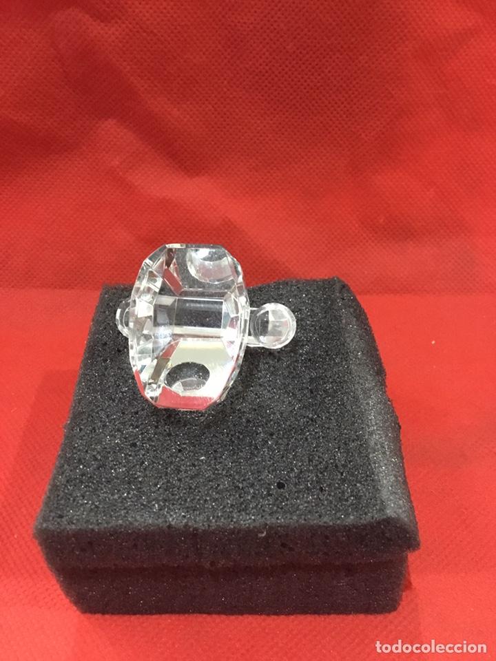 Antigüedades: Figura Telefono de Crystal con caja - ver fotos - Foto 5 - 241677855