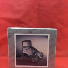 Antigüedades: FIGURA DE CRYSTAL TALLADO CON CAJA - VER FOTOS. Lote 241689325