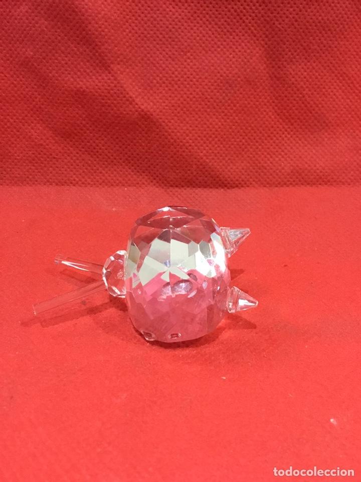 Antigüedades: Figura de Crystal tallado con caja - ver fotos - Foto 4 - 241693515