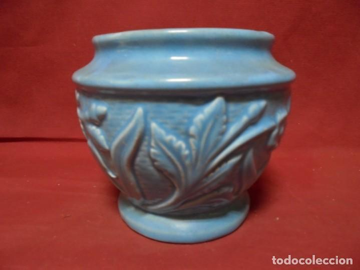 Antigüedades: magnifico antiguo jarron en ceramica - Foto 2 - 241739020