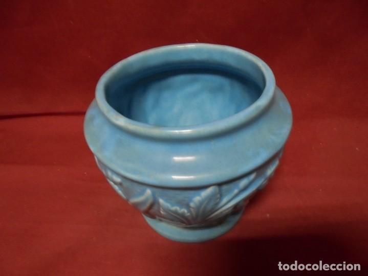 Antigüedades: magnifico antiguo jarron en ceramica - Foto 3 - 241739020