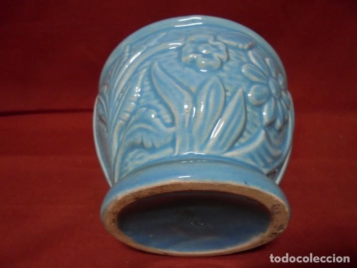 Antigüedades: magnifico antiguo jarron en ceramica - Foto 4 - 241739020