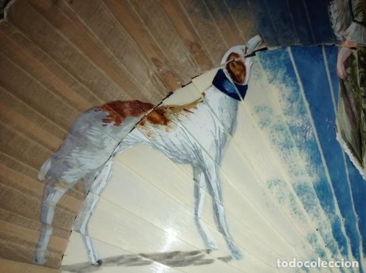 Antigüedades: ANTIGUO ABANICO PINTADO A MANO - Foto 3 - 241825765