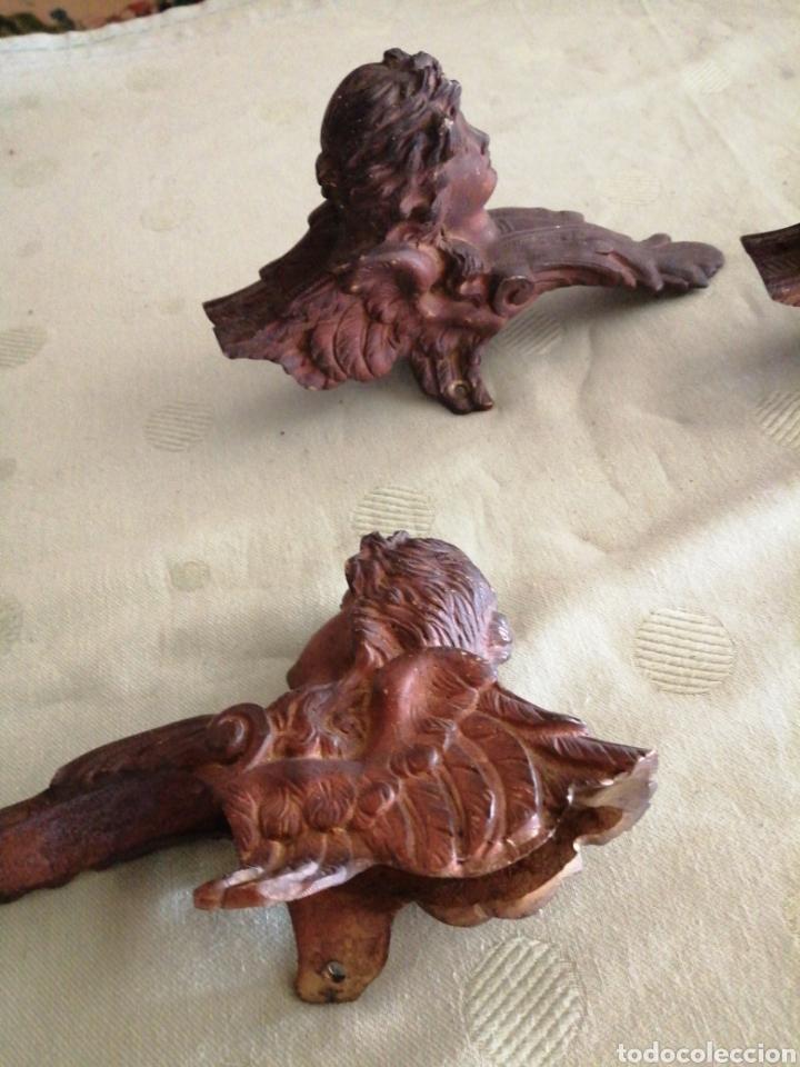 Antigüedades: Figuras de bronce adornos - Foto 4 - 241920590