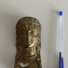 Antigüedades: ADORNO PARA MUEBLE. BRONCE. ESFINGE. 9,5 X 5 CM. Lote 241932095