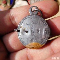 Antigüedades: RELICARIO DE PLATA SIGLO XVIII. Lote 241933860