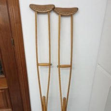 Antigüedades: MULETAS ANTIGUAS DE MADERA.. Lote 242010595