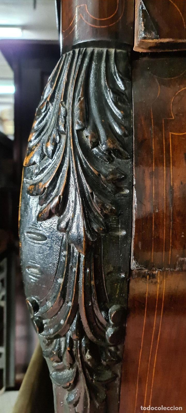 Antigüedades: COMODA EN MADERA DE PALISANDRO. ESTILO ISABELINO. MARQUETERIA DE BOJ. SIGLO XIX. - Foto 19 - 242040395