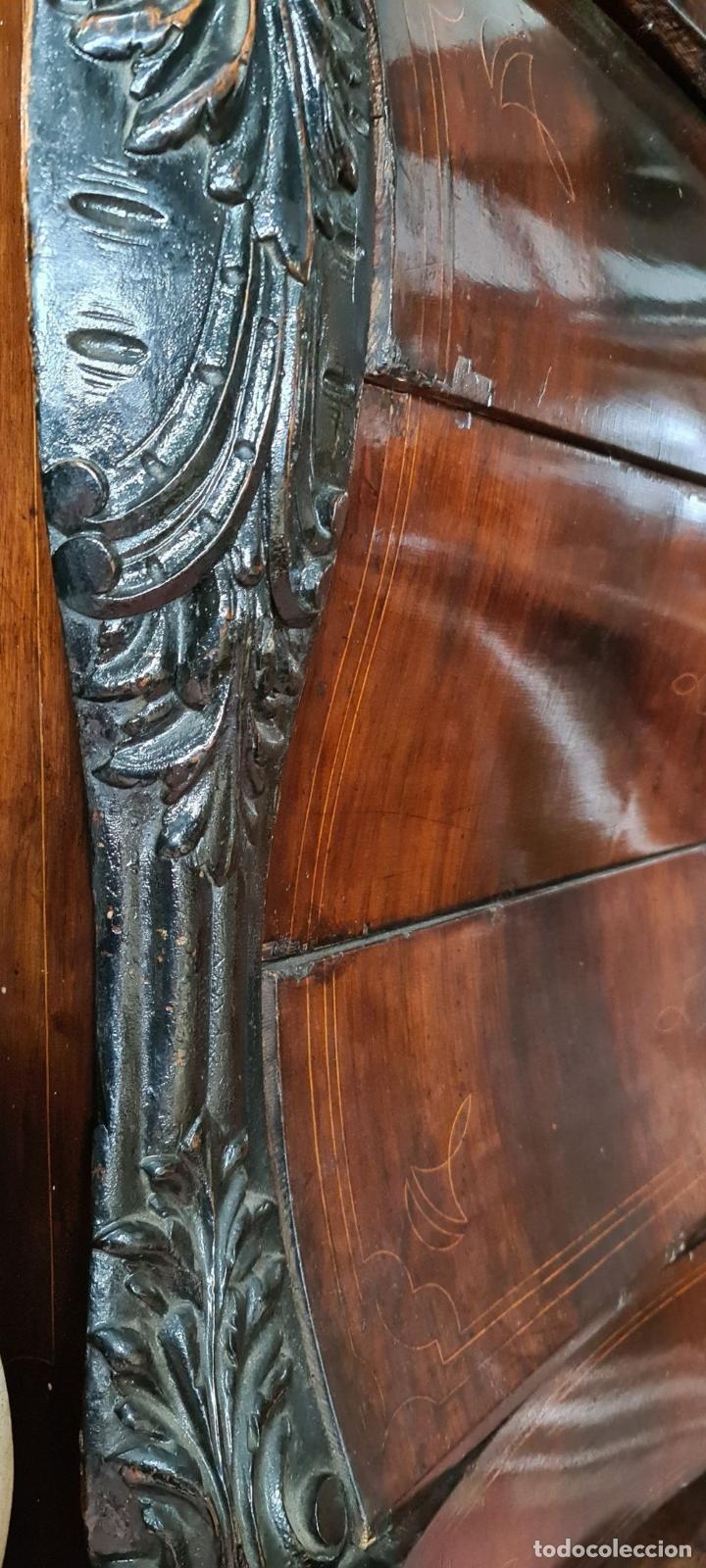 Antigüedades: COMODA EN MADERA DE PALISANDRO. ESTILO ISABELINO. MARQUETERIA DE BOJ. SIGLO XIX. - Foto 24 - 242040395