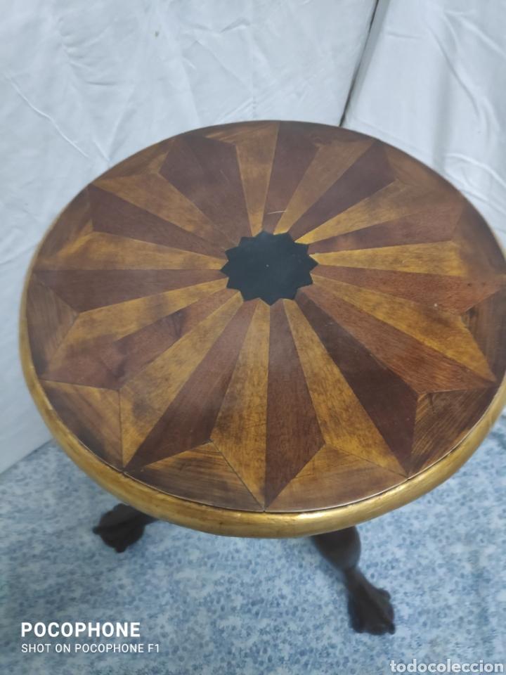 Antigüedades: Pie de velador - Foto 2 - 242040830