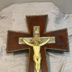 Antigüedades: CRUSIFIJO CON CRISTO. Lote 242078690