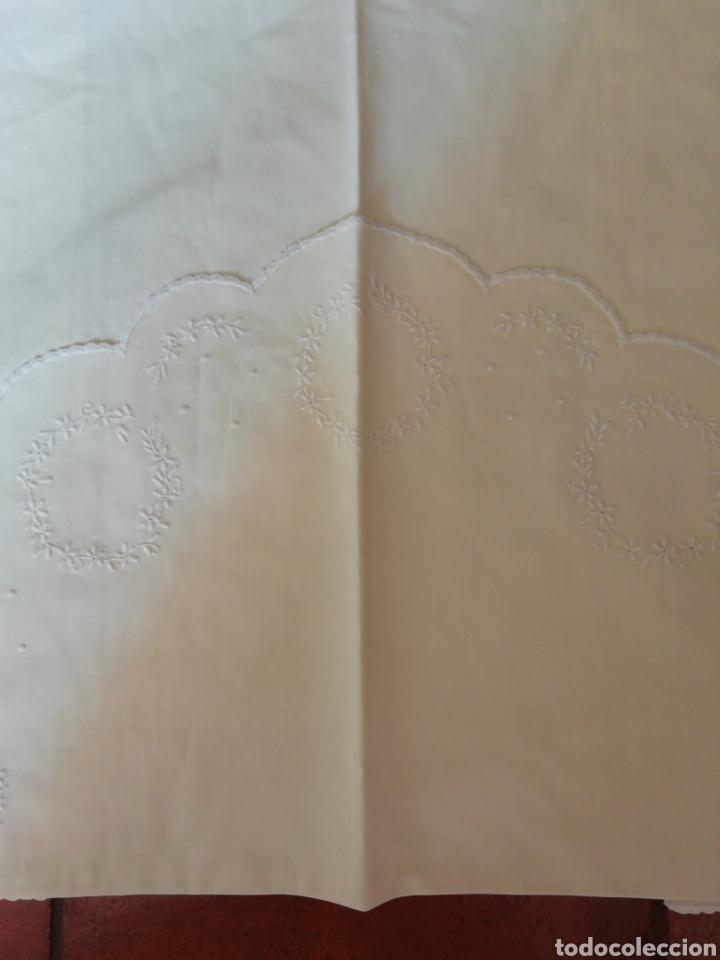 Antigüedades: sábana de cuna - Foto 3 - 242079310