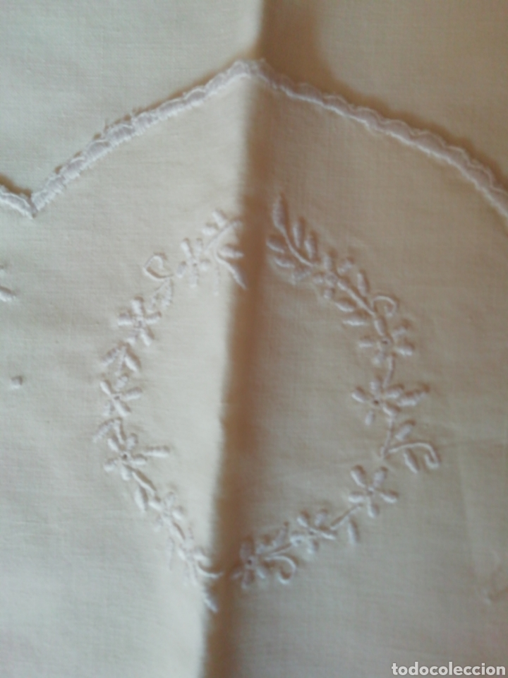 Antigüedades: sábana de cuna - Foto 4 - 242079310