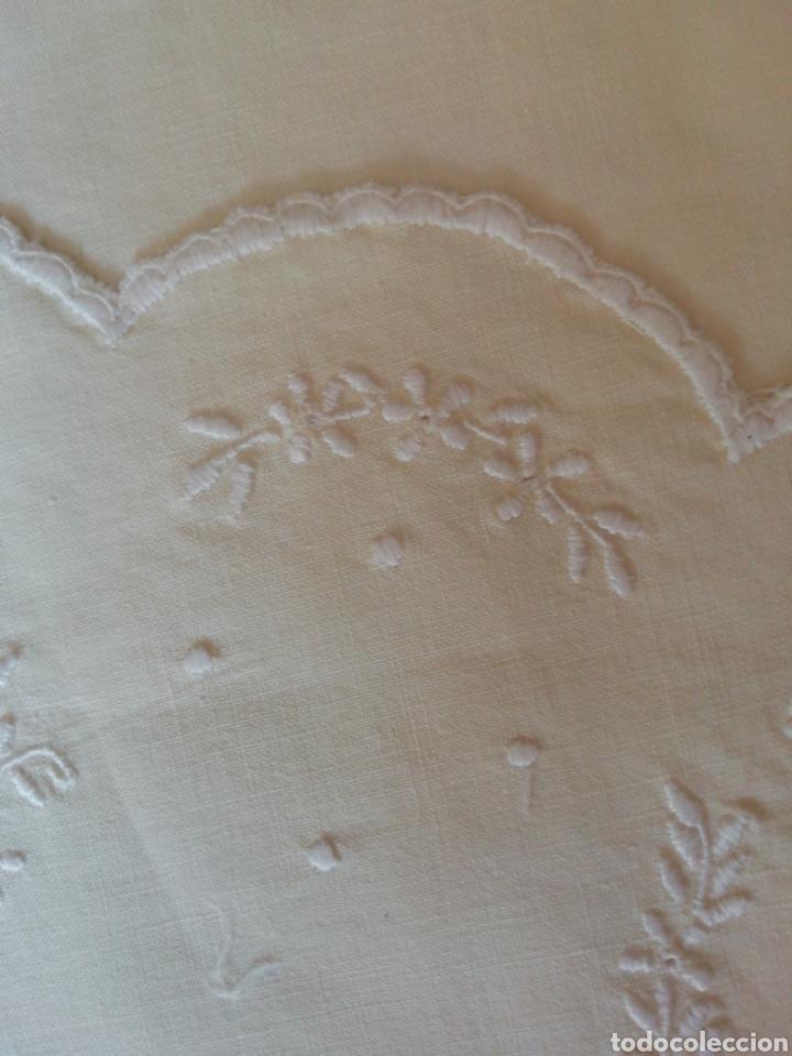 Antigüedades: sábana de cuna - Foto 5 - 242079310