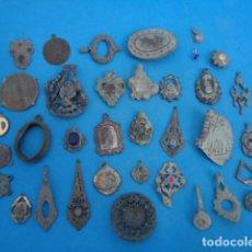 Antiguidades: GRAN LOTE DE JOYAS ANTIGUAS , ALGUNAS CON PIEDRAS .. Lote 242085525